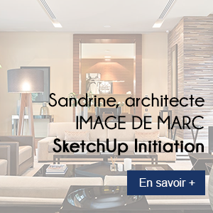 Formation sketchup sandrine architecte d 39 int rieur for Formation architecte interieur