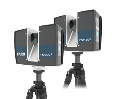 FARO Scanner Focus 3D et logiciel Scene