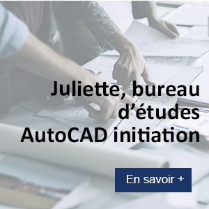 Juliette, formation autocad